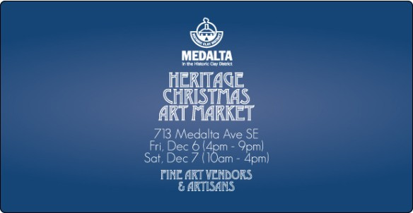 Heritage Christmas Art Market, Medalta